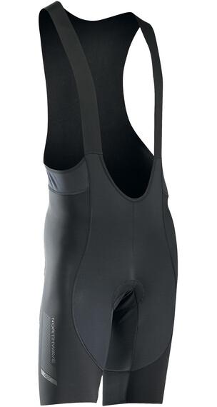 Northwave Fast Spodenki rowerowe na szelkach krótkie Mężczyźni Total Protection czarny